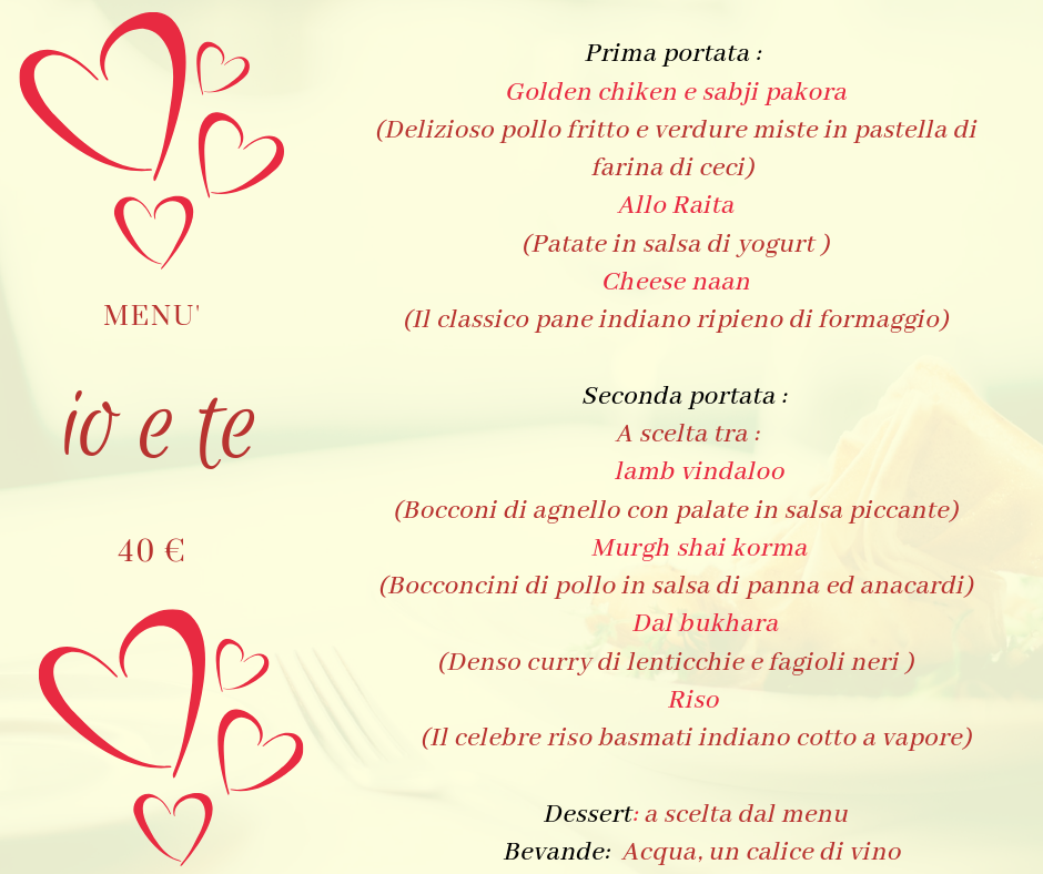 menu io e te